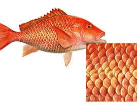 #12 for I'm looking for a digital artist who can draw detailed fish scales af MarekDAZPostulka