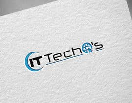 SaritaV tarafından Design a Logo for ITTechos için no 127