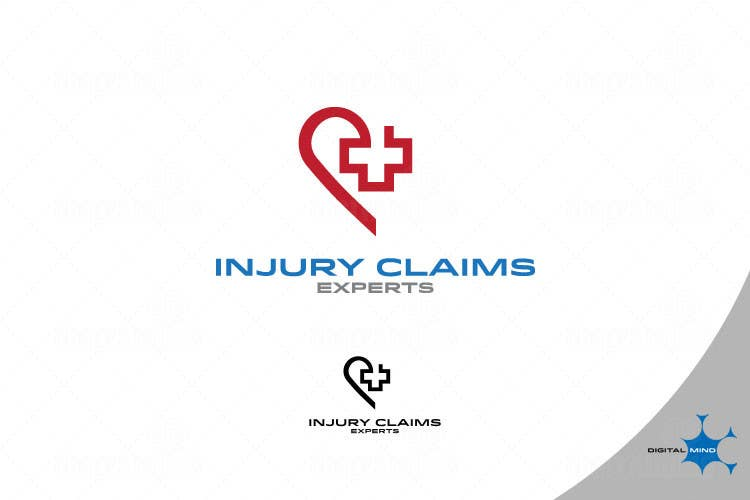 Proposition n°8 du concours Logo Design for INJURY CLAIMS EXPERTS