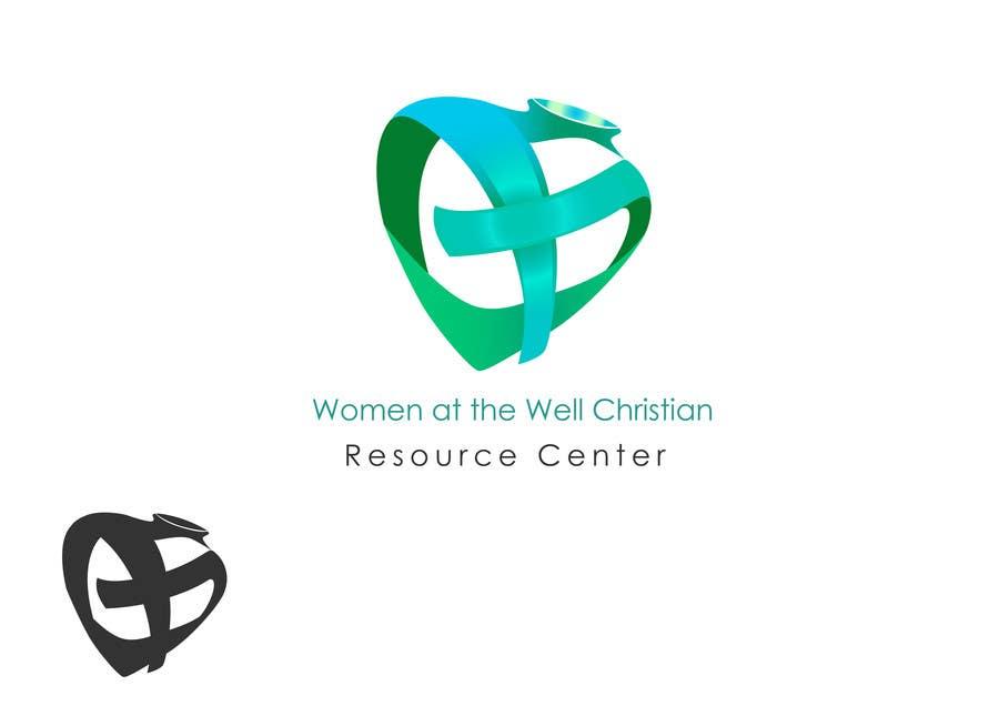 Inscrição nº                                         21                                      do Concurso para                                         Logo Design for Women at the Well Christian Resource Center