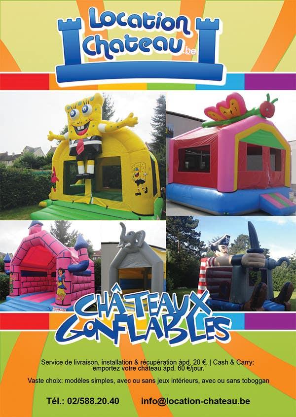 Bài tham dự cuộc thi #                                        7                                      cho                                         Flyer Design for Inflatable castle rental