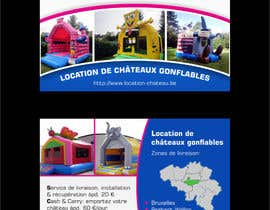 ezesol tarafından Flyer Design for Inflatable castle rental için no 13