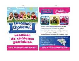 #10 for Flyer Design for Inflatable castle rental by ManuelSabatino