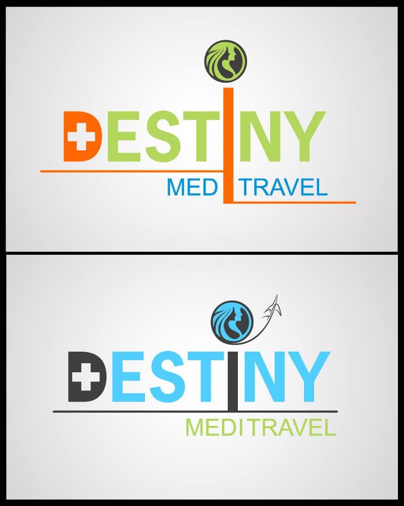 Konkurrenceindlæg #                                        59                                      for                                         Logo Design for Destiny Meditravel