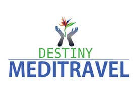 #146 para Logo Design for Destiny Meditravel por annesowhat