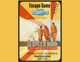 #54 for Create our new Escape Game posters! by mdmnripon