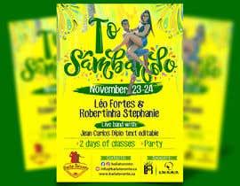 #35 cho Flyer para workshop de dança bởi soyjuliogomez