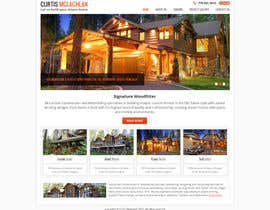 #1 para Website Redesign for Upscale Building Contractor por Pavithranmm