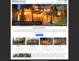 #2 para Website Redesign for Upscale Building Contractor por Pavithranmm