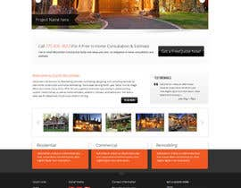 #4 for Website Redesign for Upscale Building Contractor af Pavithranmm