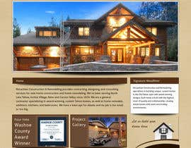 #8 for Website Redesign for Upscale Building Contractor af vigneshhc