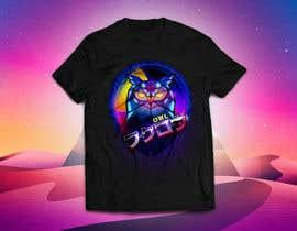 #1 untuk 80s vaporwave T-shirt merch oleh liamgimnez