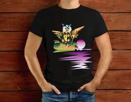 #32 untuk 80s vaporwave T-shirt merch oleh elliondesignidea