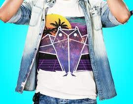 #74 untuk 80s vaporwave T-shirt merch oleh estudiom16