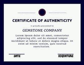 subhammalik tarafından Create Certificate of Authenticity için no 16