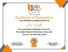 Heartbd5 tarafından Create Certificate of Authenticity için no 17