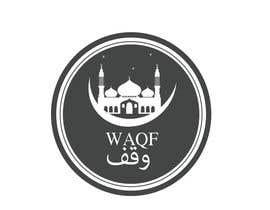 #22 para Design an Arabic Text Logo for  WAQF por nidaafreen