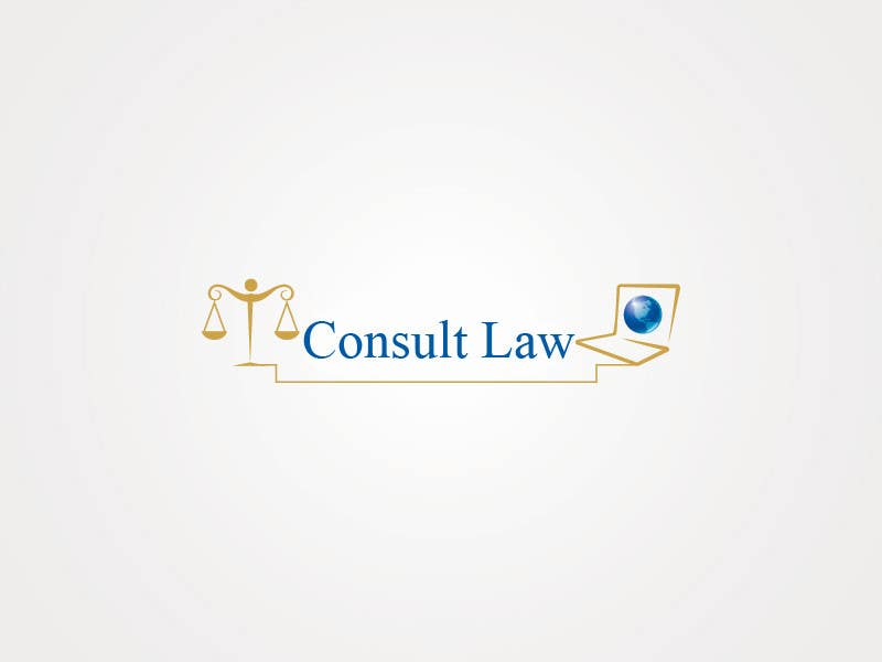 Inscrição nº                                         1                                      do Concurso para                                         Logo Design for Consulta las leyes