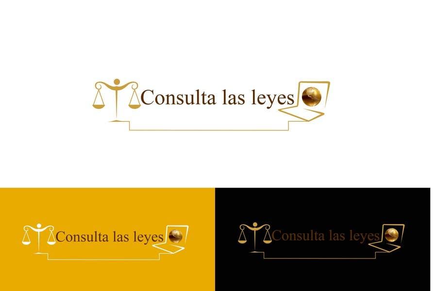 Inscrição nº                                         8                                      do Concurso para                                         Logo Design for Consulta las leyes