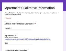 #38 for Data Entry Apartment Website af NadiaSpada