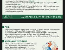 #94 for Design/branding of Australia's Environment report by paulpetrovua