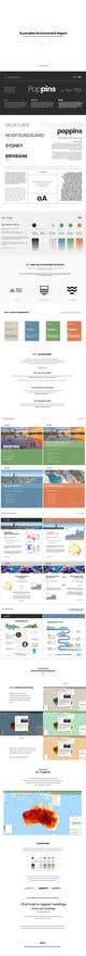Kilpailutyön #59 pienoiskuva kilpailussa Design/branding of Australia's Environment report