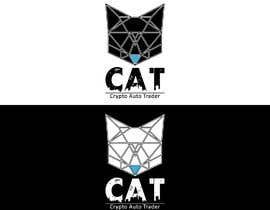 Nro 90 kilpailuun Design A Geometric Cat Face as part of a logo käyttäjältä jslavko