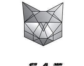 Nro 24 kilpailuun Design A Geometric Cat Face as part of a logo käyttäjältä taseenabc