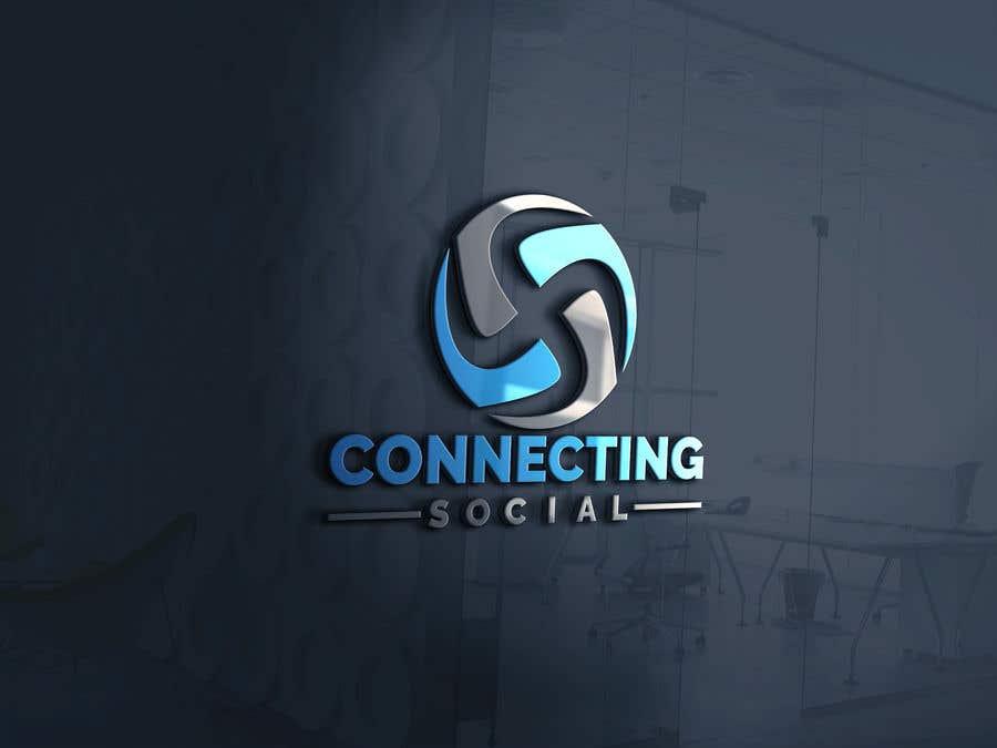 Kilpailutyö #306 kilpailussa Logo: Connecting Social