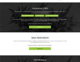 #18 for Responsive Landing Page Design for CBD Liquid Arouse by adixsoft