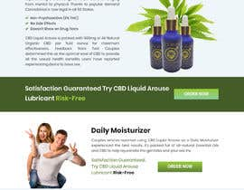 #49 for Responsive Landing Page Design for CBD Liquid Arouse by shakilaiub10