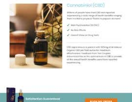 #17 for Responsive Landing Page Design for CBD Liquid Arouse by nightfreelance