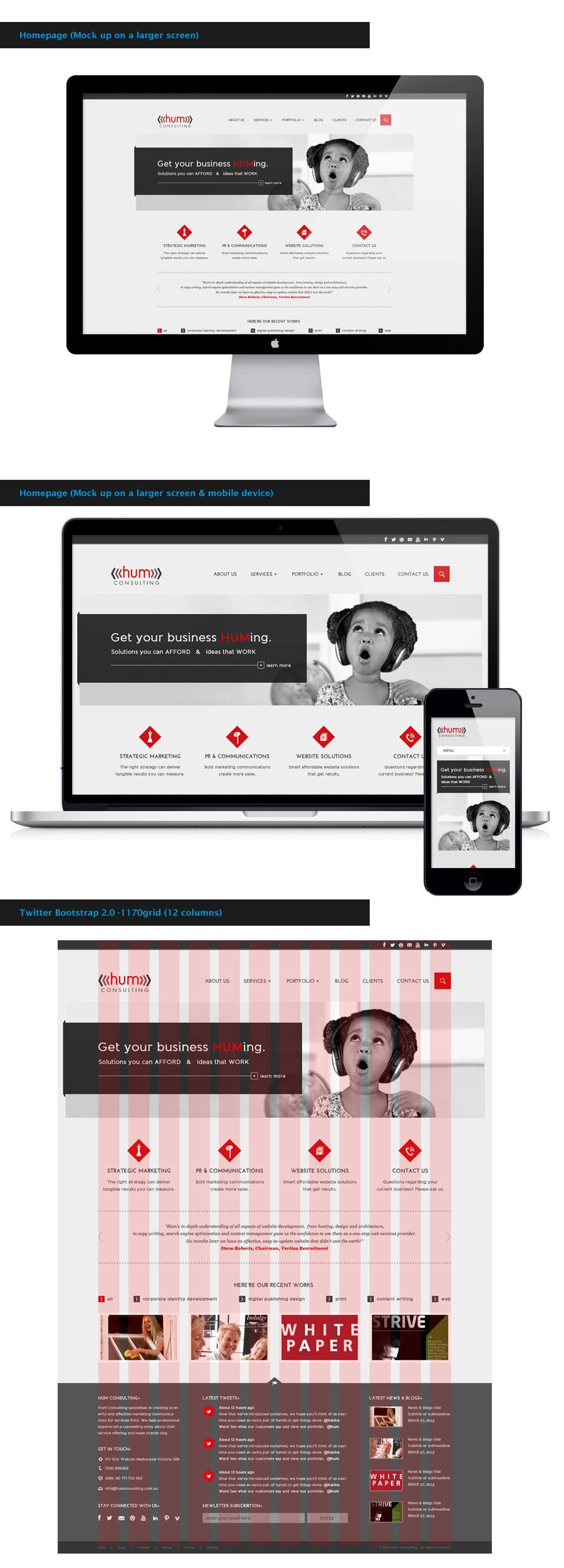 #41 for Website Redesign for Digital Marketing Company by amandachien