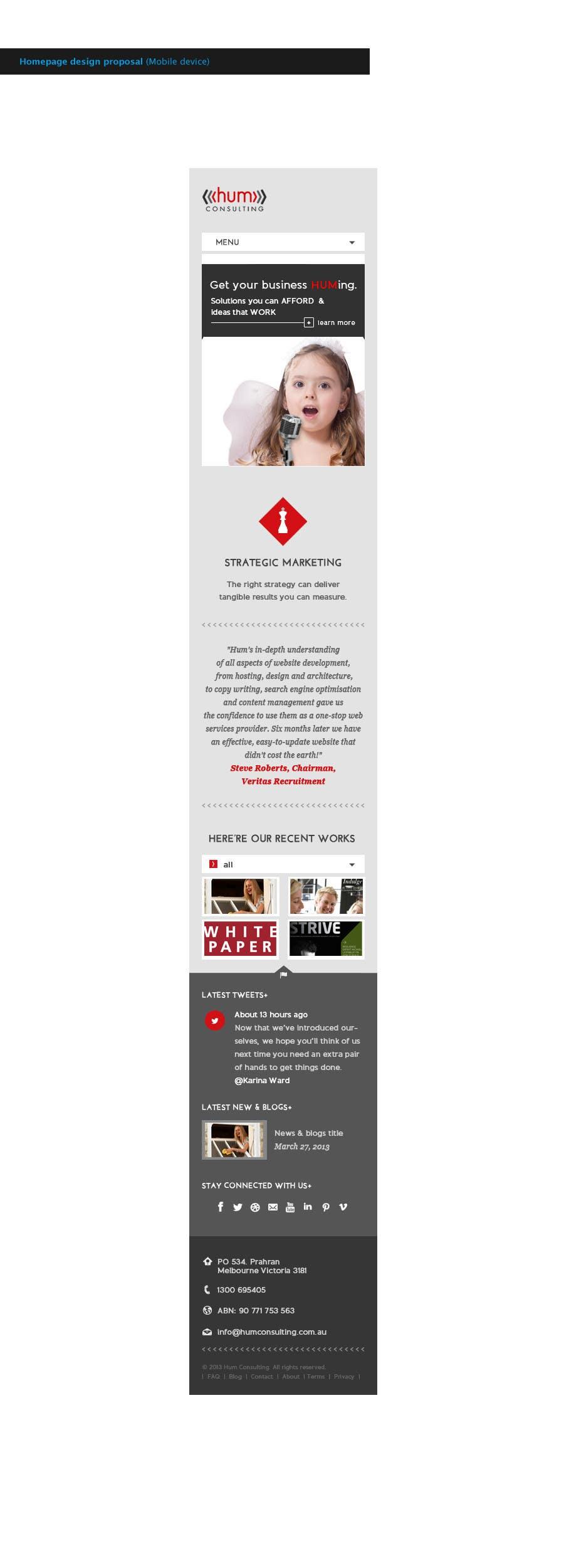 Penyertaan Peraduan #                                        43                                      untuk                                         Website Redesign for Digital Marketing Company