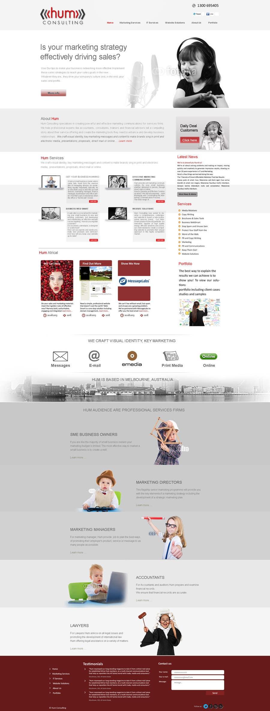 #38 for Website Redesign for Digital Marketing Company by umar101112