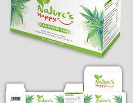ssandaruwan84 tarafından Nature's Happy Cannabis Tea - Box design için no 52