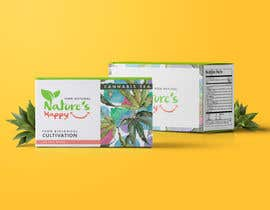 gabsgranado tarafından Nature's Happy Cannabis Tea - Box design için no 41