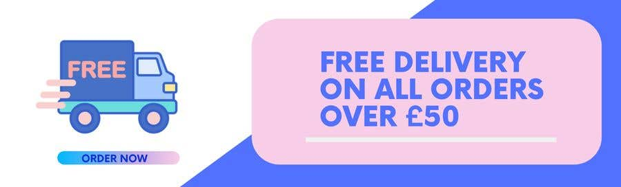 Proposition n°23 du concours Free Delivery Banner for our website