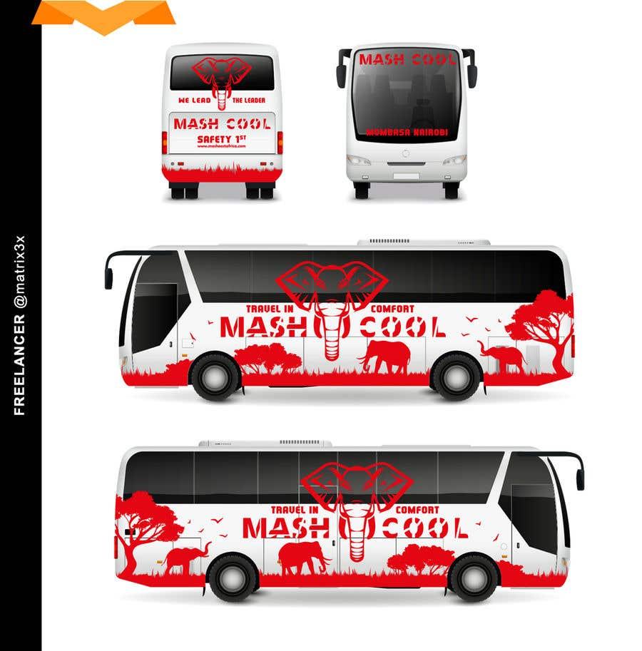 Bài tham dự cuộc thi #10 cho Need a Complete Design for Bus Branding