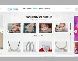 nº 9 pour Design A Mock Up Wordpress Homepage/Webdesigner CSS Expert par sharifkaiser