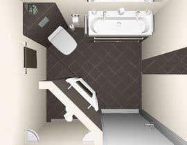 Nro 8 kilpailuun Luxury bathroom design - 1 käyttäjältä ebrahim0177922