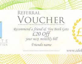 #261 for Voucher/flyer by LokeshSharma0204