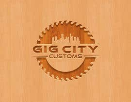 #61 untuk Need a new logo for my custom wood working business. oleh CreativeShakil