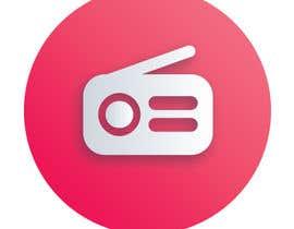 #40 for Radio player app logo af litonakash