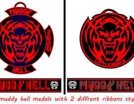 Nro 6 kilpailuun Design a medal and ribbon käyttäjältä rishabh06111999