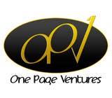 Graphic Design Inscrição do Concurso Nº17 para Logo Design for OnePageVentures - start up company