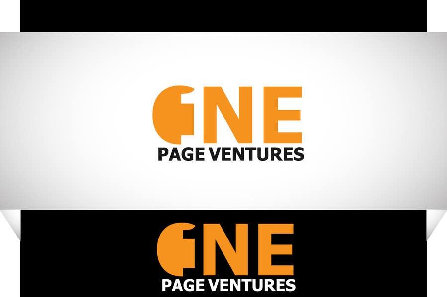 Inscrição nº                                         74                                      do Concurso para                                         Logo Design for OnePageVentures - start up company