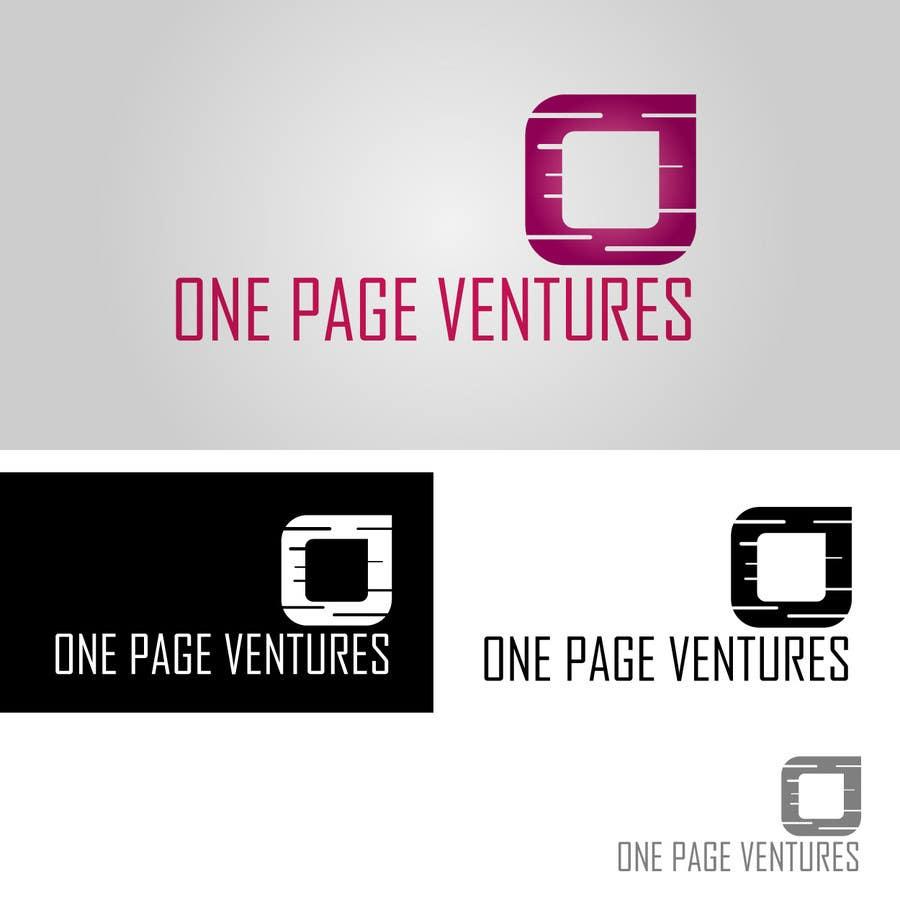 Inscrição nº                                         82                                      do Concurso para                                         Logo Design for OnePageVentures - start up company