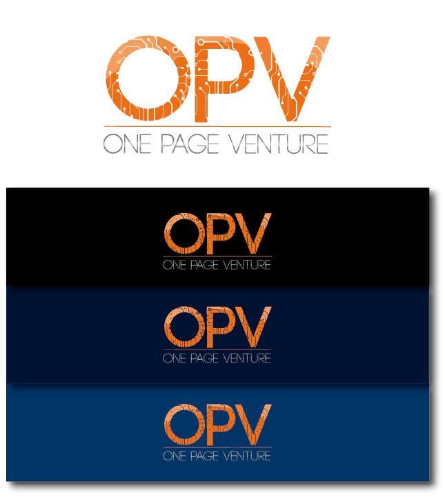 Inscrição nº                                         160                                      do Concurso para                                         Logo Design for OnePageVentures - start up company