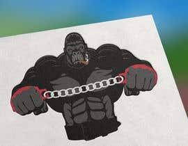 #8 for Something wit a a gorilla. Smoke maybe coming off the gorilla. Chains hanging of the wrists of the gorilla. Use all words somewhere in logo. Gorilla must look strong and powerful. Have the world or globe in logo. Use creativity as best as possible. by Syedhassan56